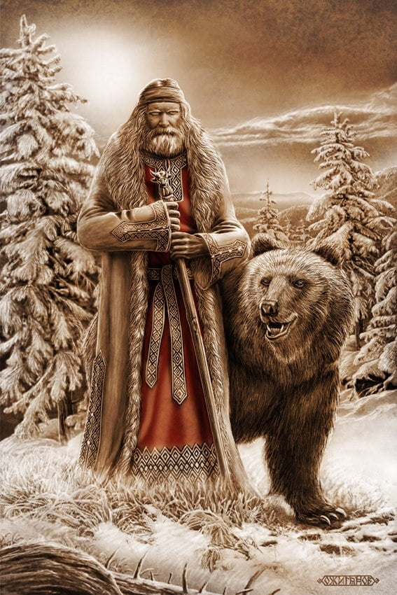 Картинки по запросу русские волхвы