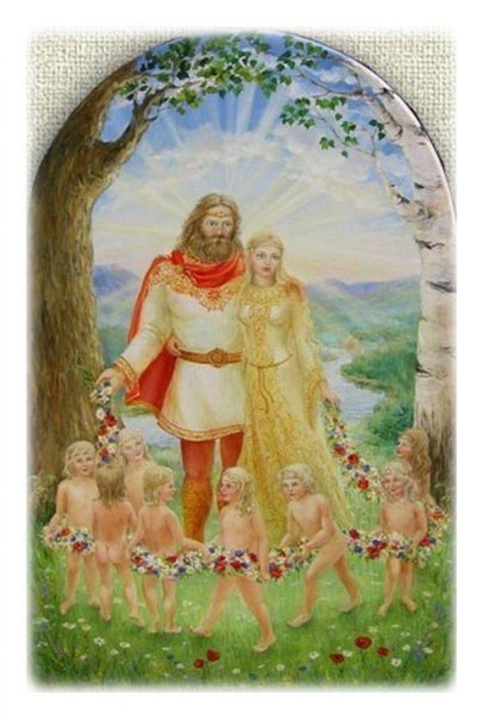 Кама и Ока - славянские боги любви