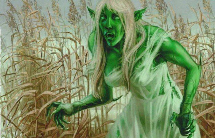 Ведьма или дух умершего